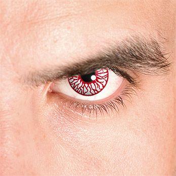 Blood Shot - Blutauge mit Sehstärke - ideal für #Zombie oder #Monster #Kontaktlinsen