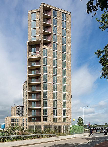 PRP Architects   Affordable Housing   Rubicon Court, Kings Cross Central, London