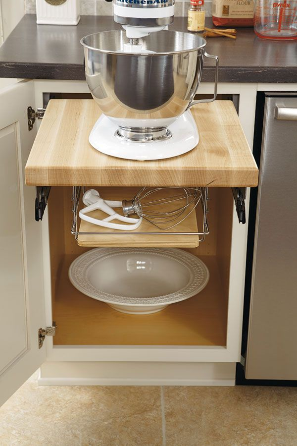 Diamond At Loweu0027s Cabinets   Base Mixer Cabinet KitchenAid Storage