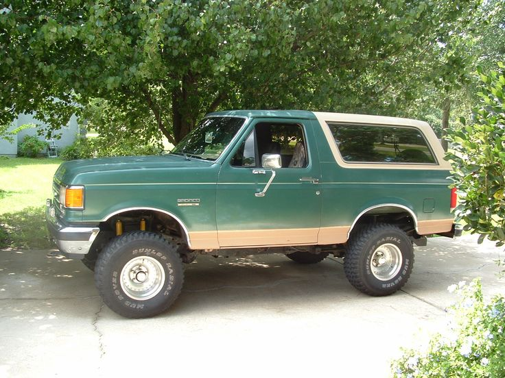 1989 Ford Broncos Suv Classic Ford Pinterest Ford