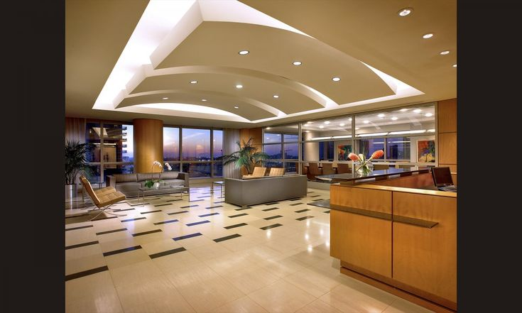 An Exquisite Corporate Office Lobby Miami Florida