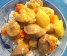 Recipe Curried Sausages by Annett - Recipe of category Main dishes - meat