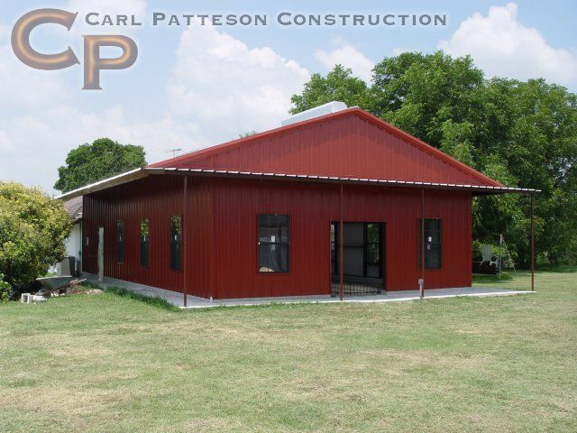 Our portfolio of metal buildings homes ranches and more for Shouse homes