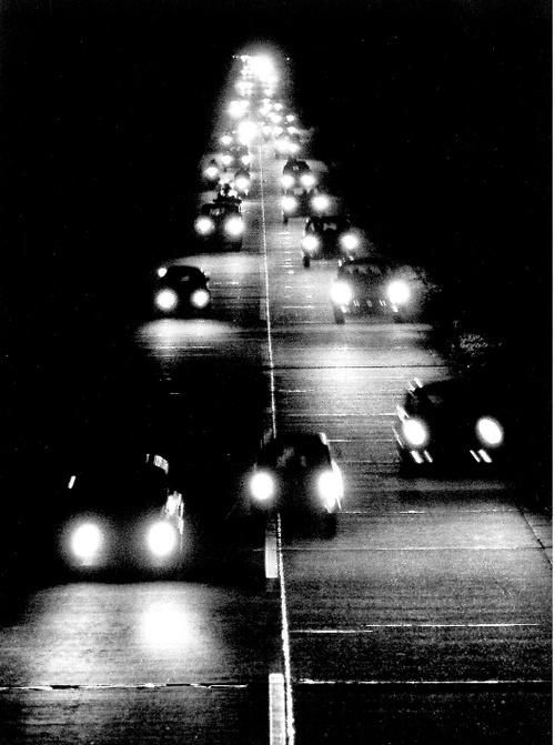 Peter Keetman: Highway By Night, 1956. S)