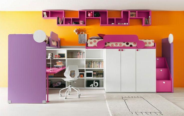 60 de idei de amenajare cu paturi suprapuse în camera copiilor