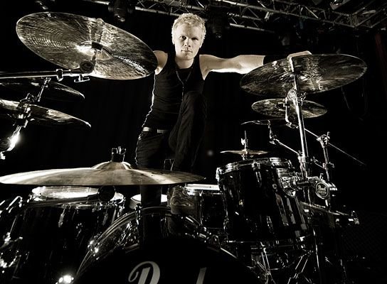 amazing drummer photoshoot | Aki Hakala Pearl Photoshoot |