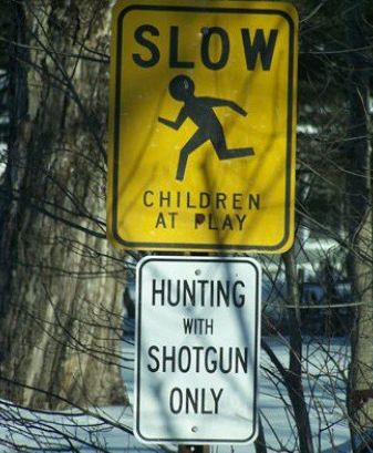 weird combination of signs via /r/funny...