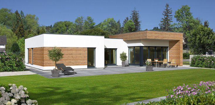 moderne bungalows Google zoeken Façade maison, Modèle
