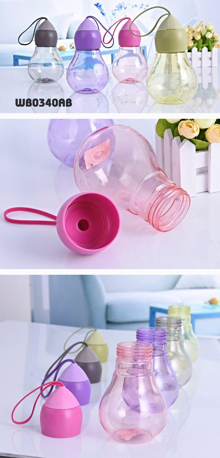Gourd bottle, strange bottle, water bottle, canteen ● Material:PC+PP    ● Size:7*13CM   ● Volume:320ml www.ideagroupigm.com
