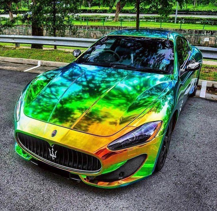 Verrückte Farbe #Maserati Dope oder Nope? • Foto von: Bill Worley…   – autos