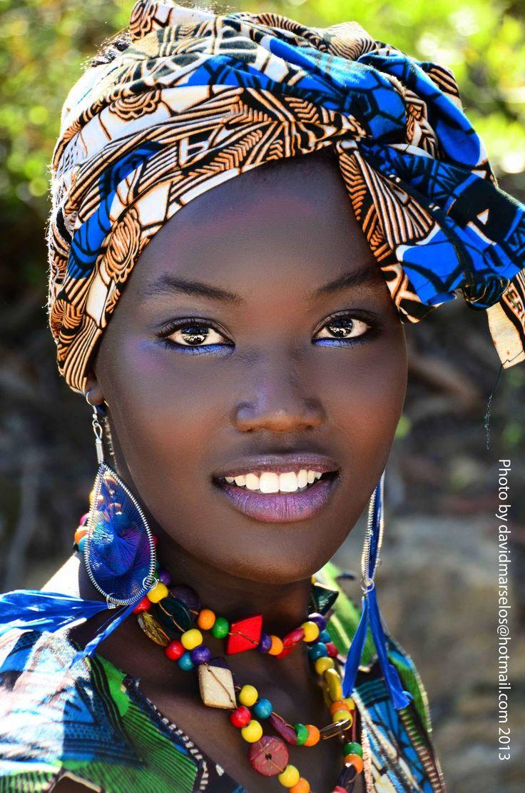 Belleza africana.