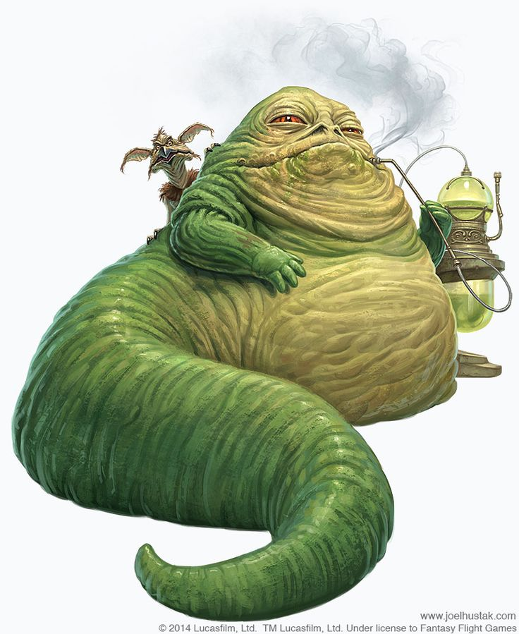 Star Wars: Edge of the Empire - Lords of Nal Hutta // Jabba The Hutt by Joel Hustak