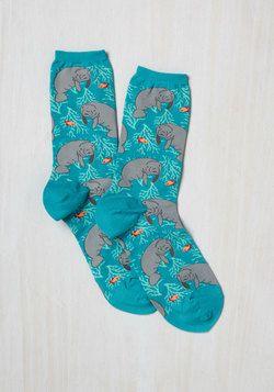 Fits You to a Manatee Socks