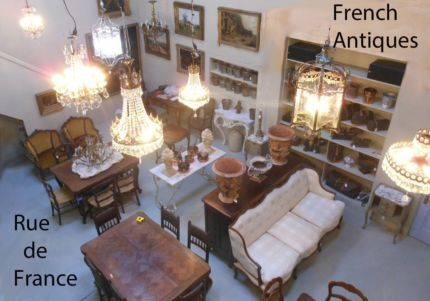 ANTIQUE & VINTAGE FRENCH ANTIQUES AND DECOR - - WAREHOUSE