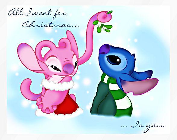 Walt Disney Fan Art - Angel & Stitch - walt-disney-characters Fan Art