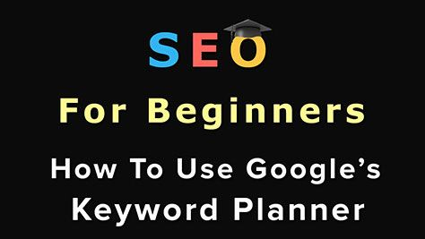 A step-by-step video on how to use Google's Keyword Planner to see an estimated number of searches for a specific keyword and more!