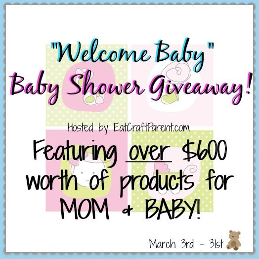 Welcome Baby: Over $600 in Must-Have products for Mom & Baby!