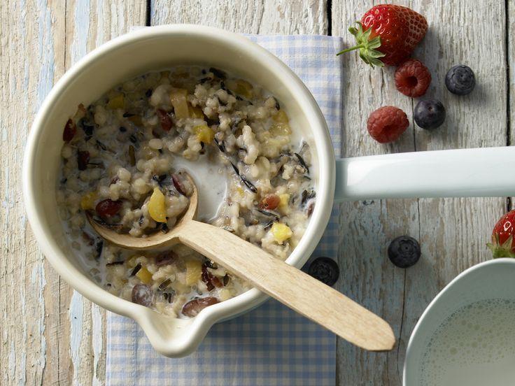 Wildreismüsli mit Hafer, Bulgur und Graupen | Kalorien: 175 Kcal - Zeit: 20 Min. | eatsmarter.de