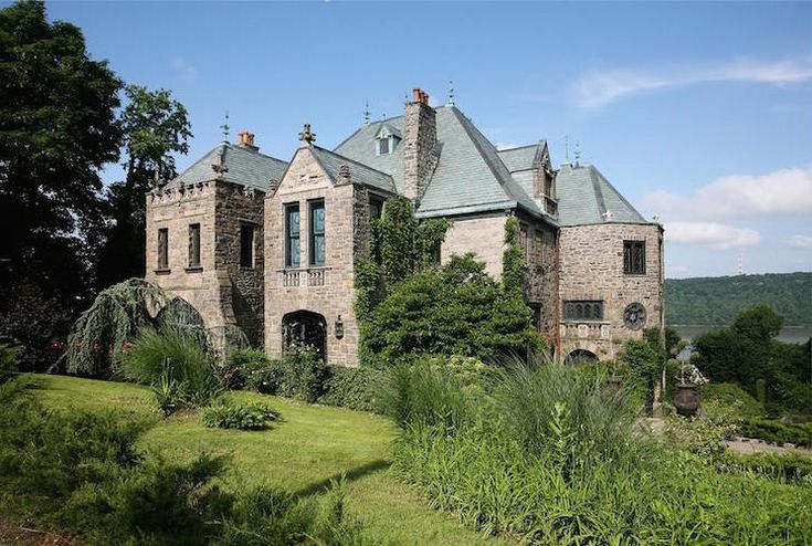 Lavish 1890s Stone Castle from Yonkers, New York, up for the grabs
