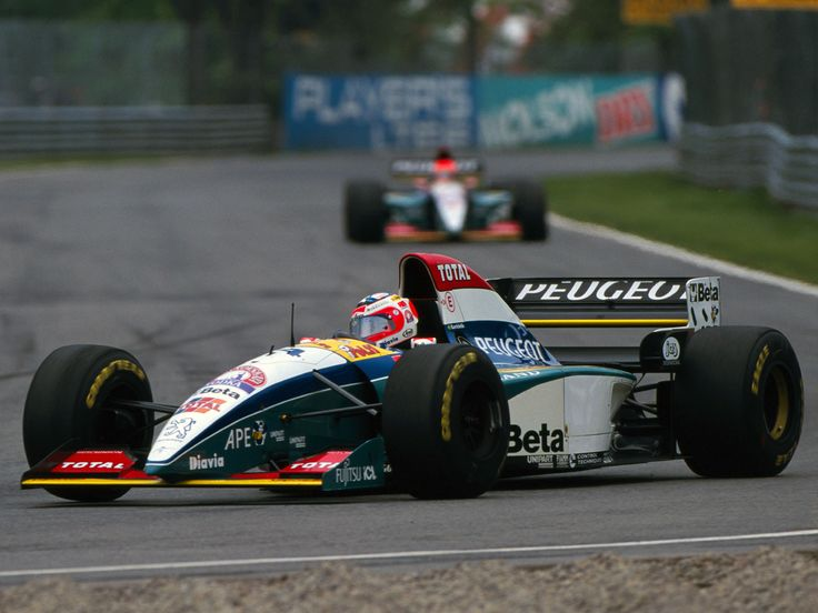 Rubens Barrichello Canada 1995