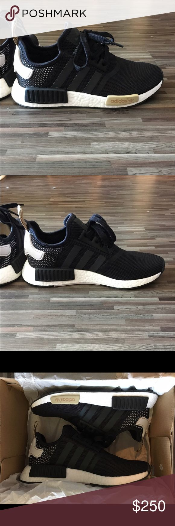 Women's Adidas NMDs Black/Icy Purple These sneakers are very rare! I hate to part with them but they've been sitting in my closet since I purchased them from an Adidas store in Surfside, Florida. NMDs run a half size small, so know your size! A 7.5 fits like an 8. Please, serious offers only! No trades. Happy shopping! adidas Shoes Athletic Shoes