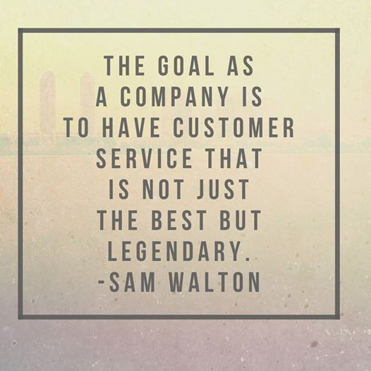 the goals for customer service Customer service excellence can only be achieved if clear goals are set for both  the organization and the individual customer service rep.