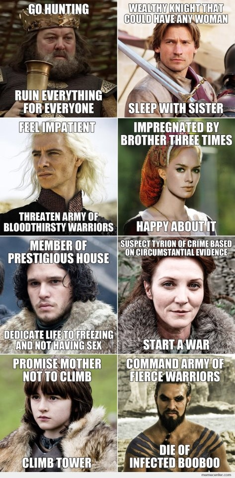 Game of Thrones hilarity :P