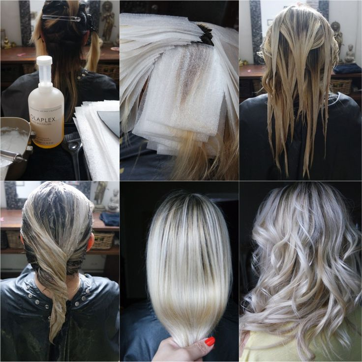 Balayage Blond Polaire Cheveux Court