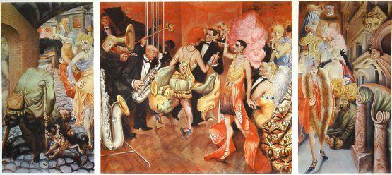 Otto Dix Grossstadt 1927-28 Kunstmuseum Stuttgart