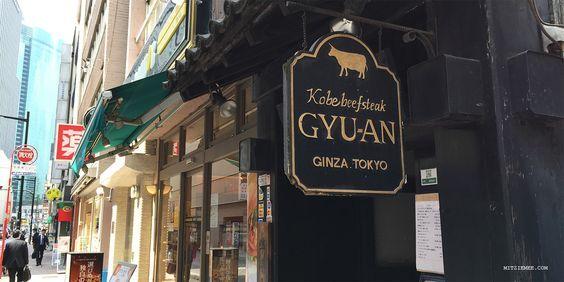 Gyu-An - Kobe beef restaurant in Tokyo
