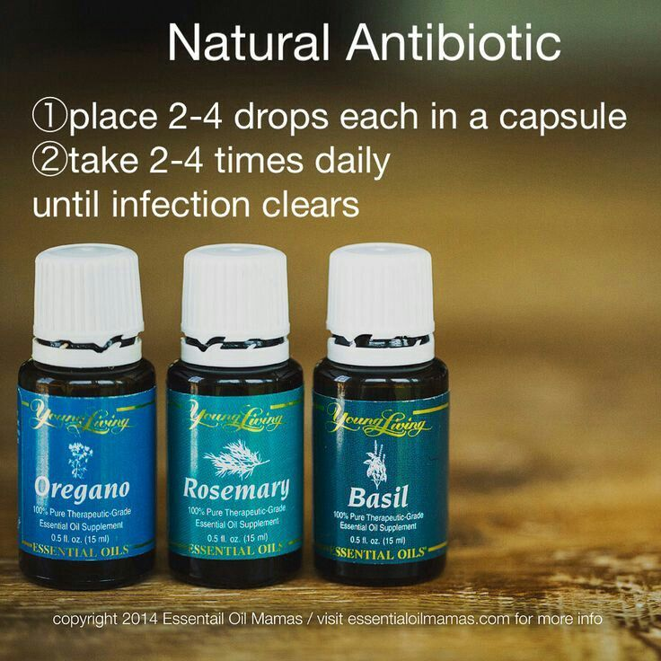 Young Living Essential Oils: Antibiotic