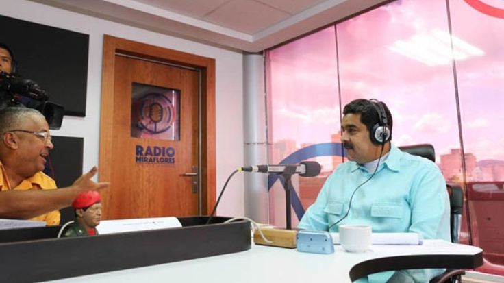 cool Venezuela's president becomes a radio DJ and gives his country's crisis a salsa soundtrack