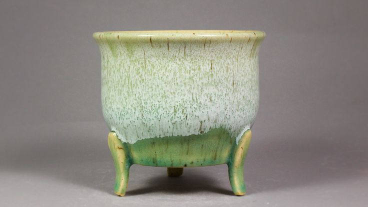 """4.5"""" Orchid Display Pot with Feet by Ashley Keller"""