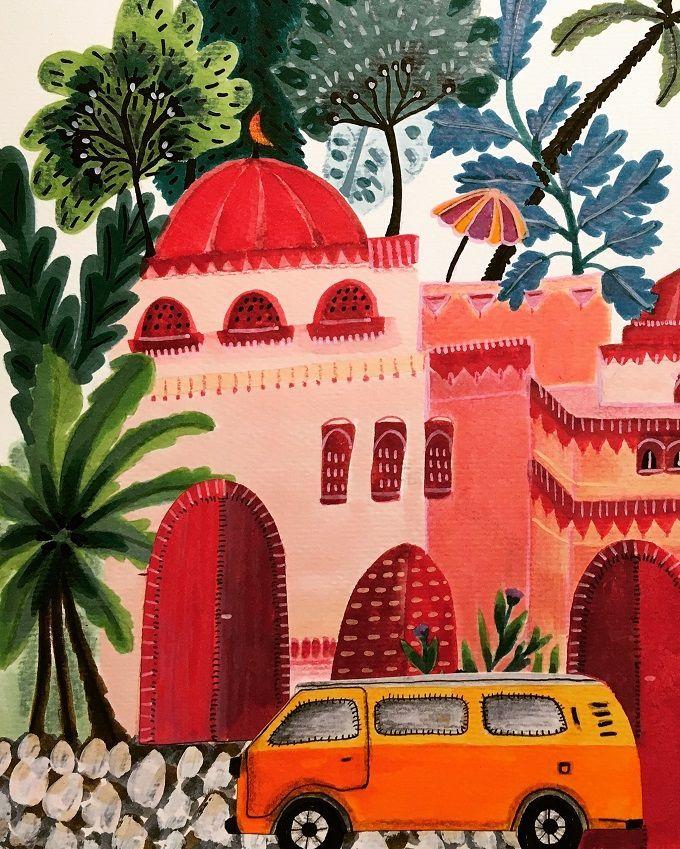 Magical Illustrations by Roeqiya Fris