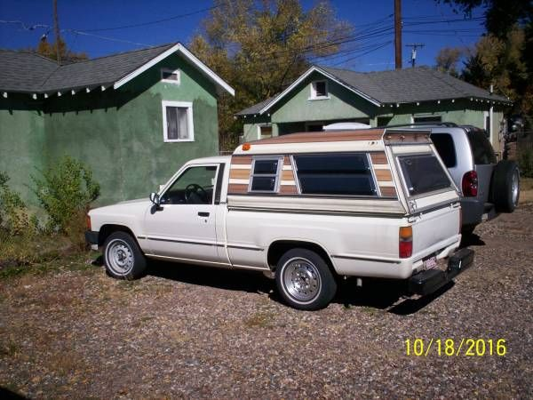 1986 Toyota Pickup and/or Camper Shell for Sale (flagstaff) $2000: 1986 Toyota Pickup for Sale 2 wheel drive Can sell Camper shell…
