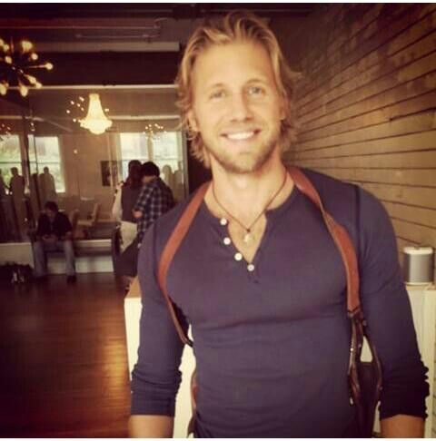 Matt Barr. High five on his addition to the cast of Sleepy Hollow!