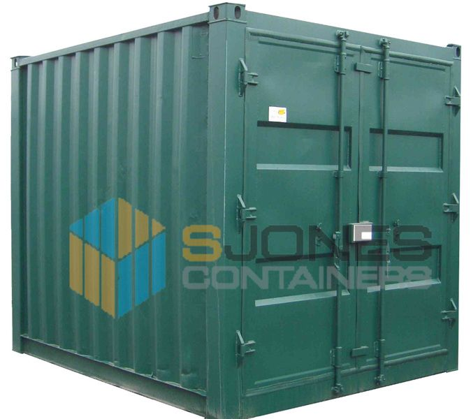 Container Sales and Hire Gallery 10ft new containers are cut down from 20ft containers, therefore they are usually converted in house and re-painted providing an excellent quality container.  Both new and used 10ft containers are perfect for general storage and are available for sale and hire.
