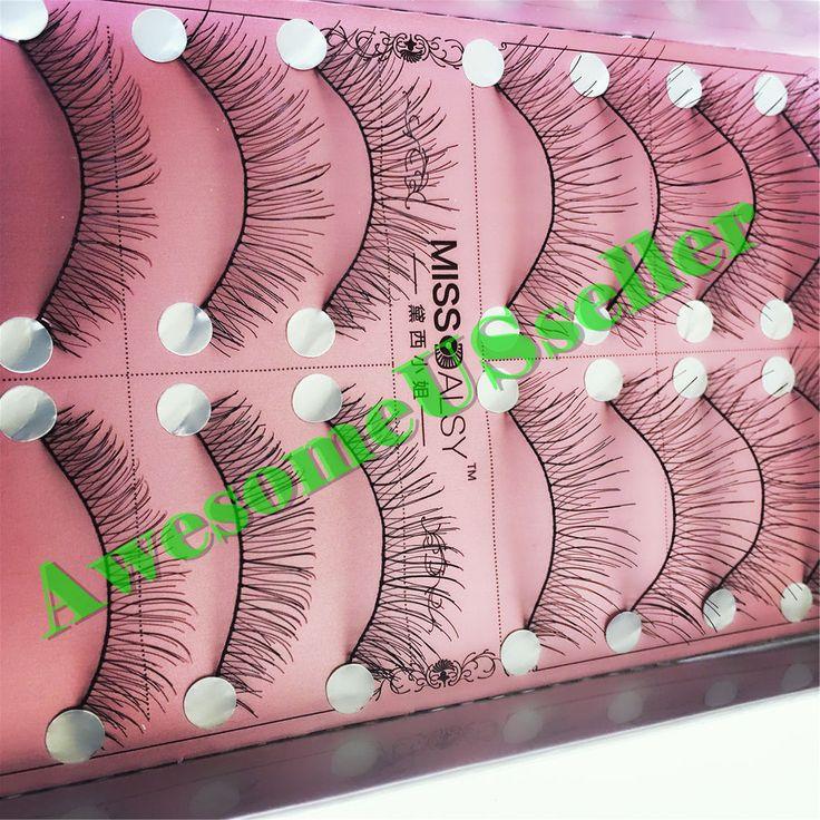 10Pairs Makeup Handmade Natural Fashion Long False Eyelashes Eye Lashes #217B