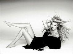 アメリカのスーパーモデルのクリスティ・ブリンクリー