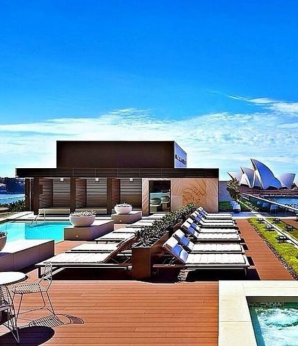 Sit back. Relax. Take in the Sydney Harbour at @parkhyattsydney. Cc: @hyattaustralia #MYLUXLIST | Park Hyatt