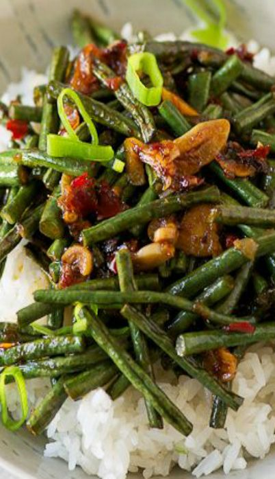 Stir-Fried String Beans | Recipe | Beans