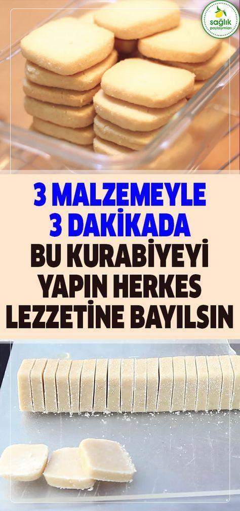 3 Malzemeyle Sadece 3 Dakikada Yapacağınız Kurabiyeyle Konuklarınız Sırrı …