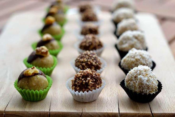 Süßes Mitbringsel: Dreierlei vegane Pralinen