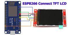esp8266 tft lcd Display