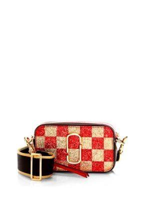 eb3b06719e69 Marc Jacobs - Snapshot Checkerboard Camera Bag
