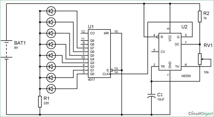 inverter circuit diagram using 555 timer