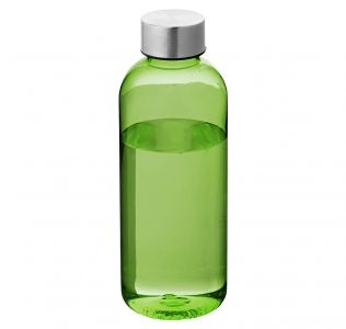 Promotional Spring sports bottle. Green 600ml BPA Free Bottle