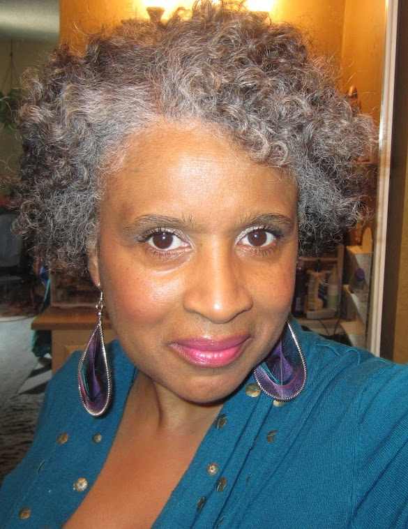 Grey Hair African American Woman: GOING GRAY NATURALLY.....: MY FAVORITE NATURAL HAIR STYLE