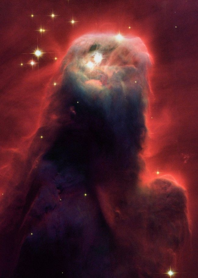 The Cone Nebula Hubble Space Telescope image-