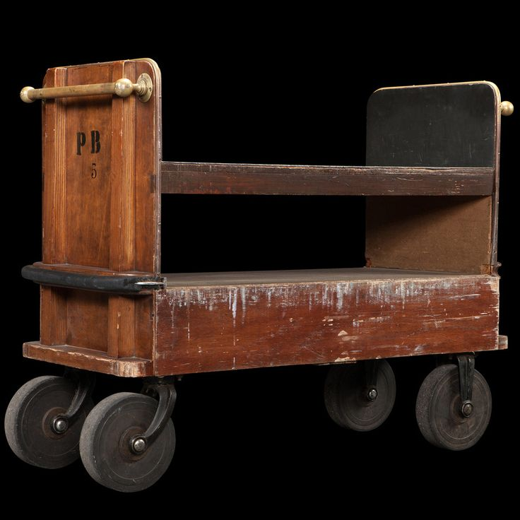 Industrial Library Trolley :: Obsolete